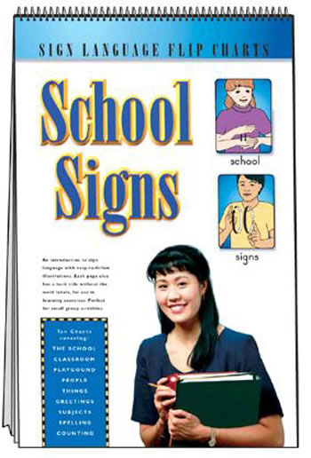 SIGN LANGUAGE FLIP CHARTS SCHOOL