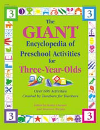 GIANT ENCYCLOPEDIA 3 YR OLDS PR-K