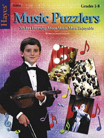 MUSIC PUZZLERS BOOK 3 GR 5-8