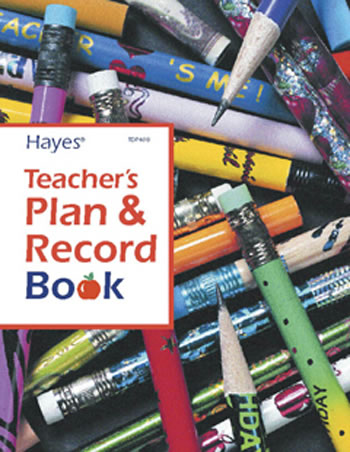 TEACHERS PLAN AND RECORD BOOK
