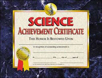 SCIENCE ACHIEVEMENT 30/PK 8.5 X 11