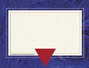 BLUE MARBLE CERTIFICATE BORDER