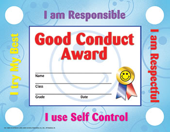GOOD CONDUCT 30/SET