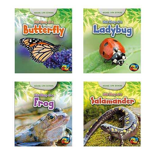 ANIMAL LIFE STORIES SET OF 4 BOOKS