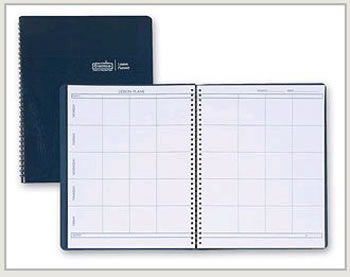 WEEKLY LESSON PLANNER BLUE