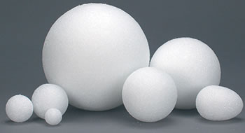3IN STYROFOAM BALLS 50 PIECES