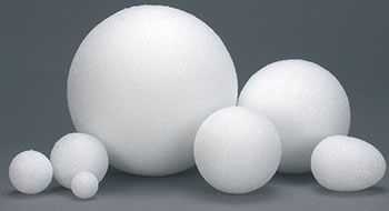 4IN STYROFOAM BALLS 36 PIECES