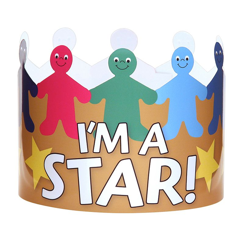 IM A STAR CROWNS PACK OF 24