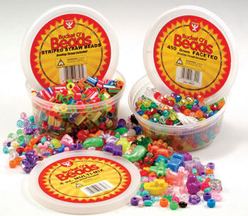 BUCKET O BEADS MULTI MIX 10 OZ