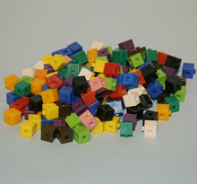Interlocking Gram Cubes  pkg. 1000