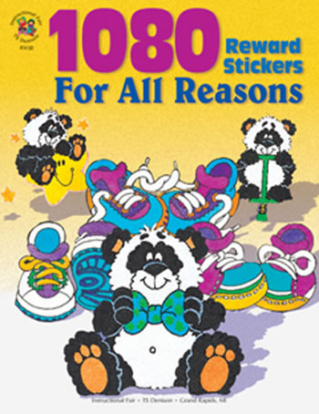 STICKER BOOK FOR ALL REASONS 1080PK