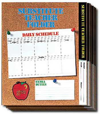 SUBSTITUTE FOLDER ELEM CORK 24-PK