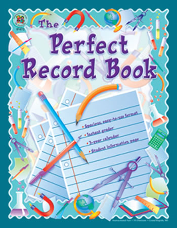 THE PERFECT RECORD BOOK 8 X 11