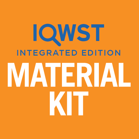 IQWST Integrated - 8.1 - Durable Kit with Equipment - 128 Students