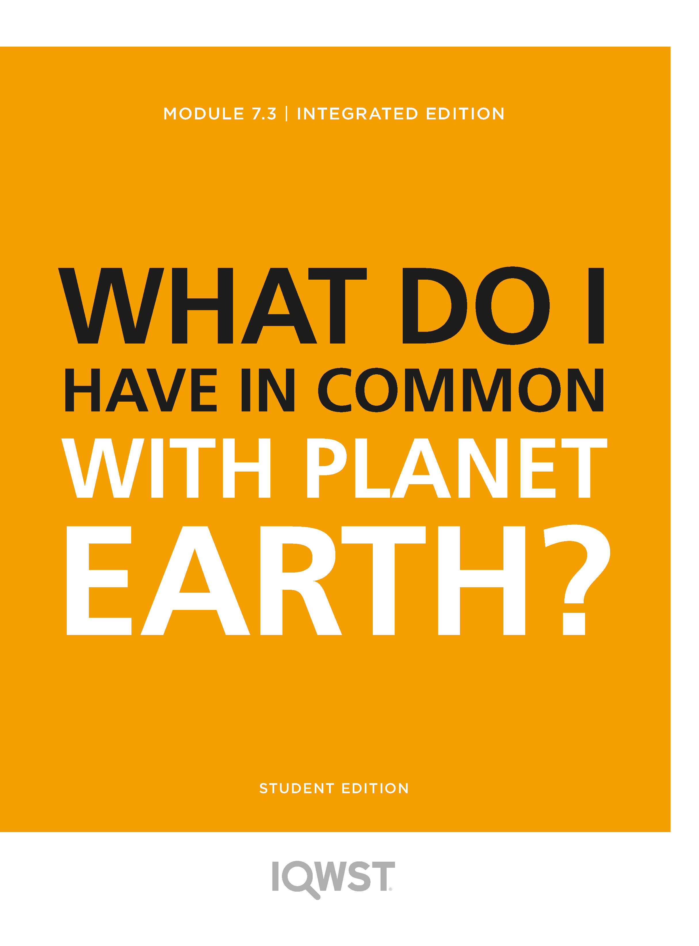 7.3 What Do I Have in Common with Planet Earth?