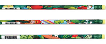RAINFOREST ASSORTED PENCILS 12/BOX