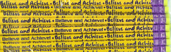 BELIEVE AND ACHIEVE PENCIL