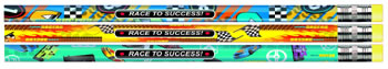 RACE TO SUCCESS ASST PENCILS DOZEN