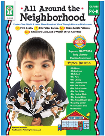 ALL AROUND THE NEIGHBORHOOD BOOK