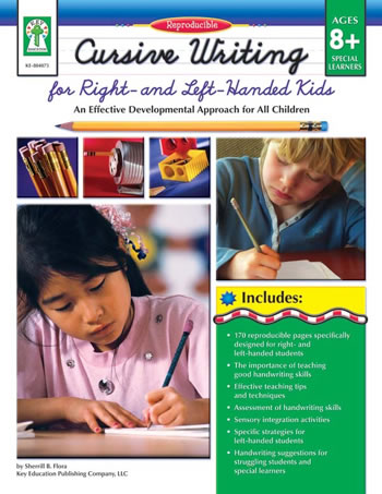 CURSIVE WRITING FOR RIGHT & LEFT