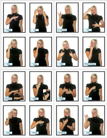 SIGN LANGUAGE FOR THE EARLY