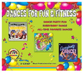 DANCES FOR FUN & FITNESS 3-CD SET