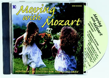 MOVING WITH MOZART CD
