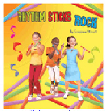 RHYTHM STICKS ROCK CD