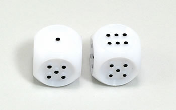 TACTILE DICE  2 EACH