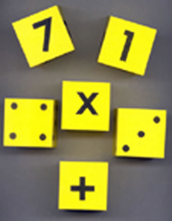 FOAM DICE 2 SET OF 6
