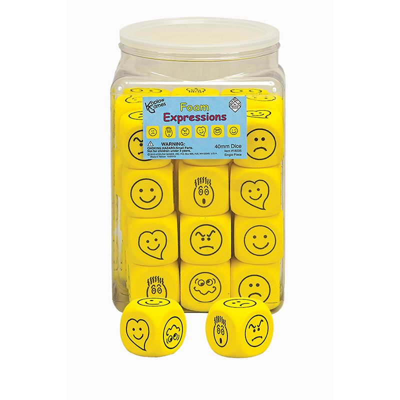 EMOTIONS DICE 36/TUB