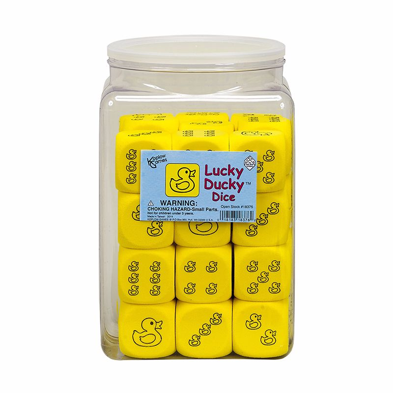 LUCKY DUCKY DICE 36/TUB