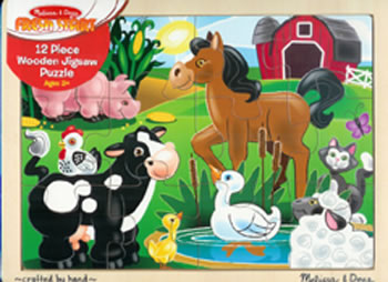ON THE FARM JIGSAW