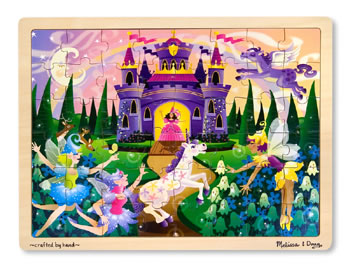FAIRY TALES 48-PC WOODEN JIGSAW