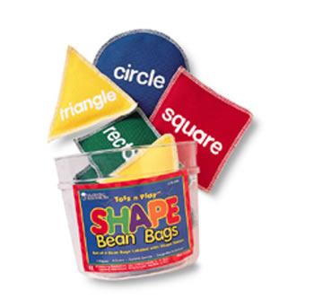 BEAN BAGS SHAPE 8/PK