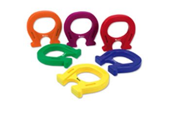 HORSESHOE-SHAPED MAGNETS SET OF 6