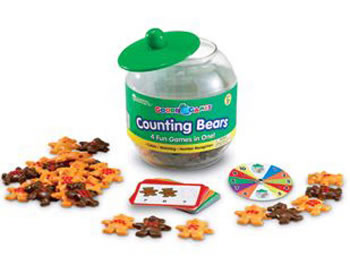 GOODIE JAR GAMES - COUNTING BEARS