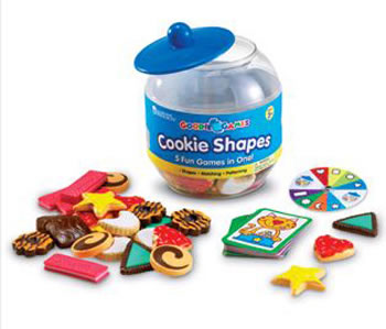 GOODIE JAR GAMES - COOKIE SHAPES