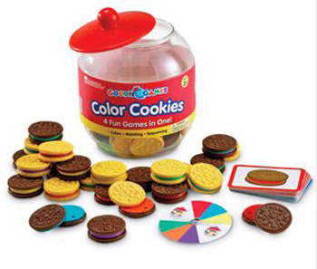 GOODIE JAR GAMES - COLOR COOKIES