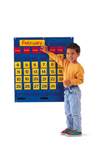BILINGUAL MONTHLY CALENDAR POCKET