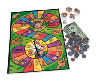 MONEY BAGS A COIN VALUE GAME GR 2+