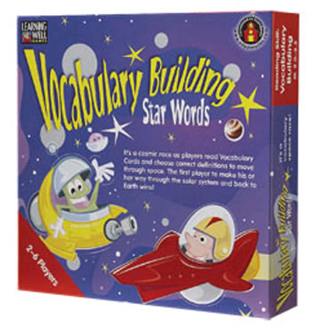 VOCABULARY BUILDING STAR WORDS BLUE