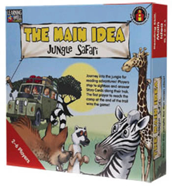 THE MAIN IDEA JUNGLE SAFARI BLUE