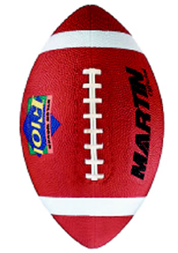 FOOTBALL OFFICIAL BROWN RUBBER