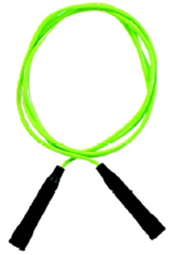 SPEED ROPE 16FT GREEN VINYL PLASTIC