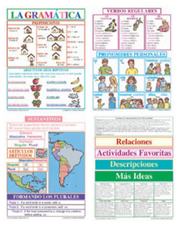 BB SET SPANISH GRAMMAR