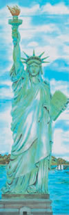 COLOSSAL POSTER STATUE OF LIBERTY