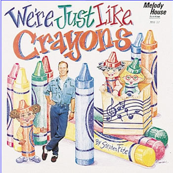 WE ARE JUST LIKE CRAYONS CD