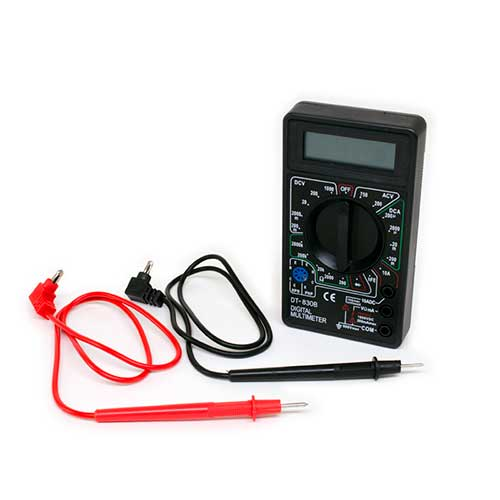 Multimeter Digital With Leads