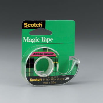 TAPE MAGIC TRANS 3/4 X 300